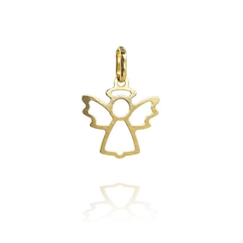 Zlatý přívěsek - andělíček