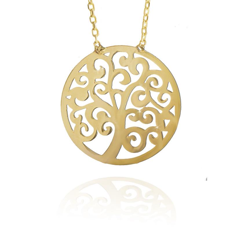 Zlatý náhrdelník - strom života