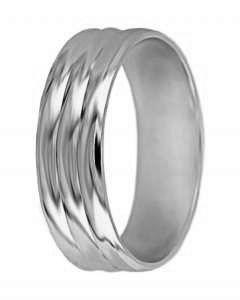 Hejral snubní prsten A 2 bílé zlato