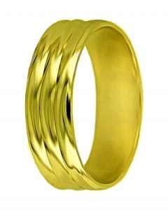 Hejral snubní prsten A 2 žluté zlato