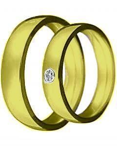 Hejral snubní prsten Claudia 2 žluté zlato
