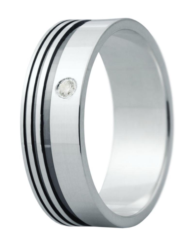Hejral snubní prsten Eliška 4 bílé zlato