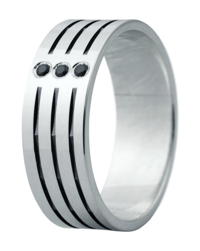 Hejral snubní prsten Eliška 5 bílé zlato