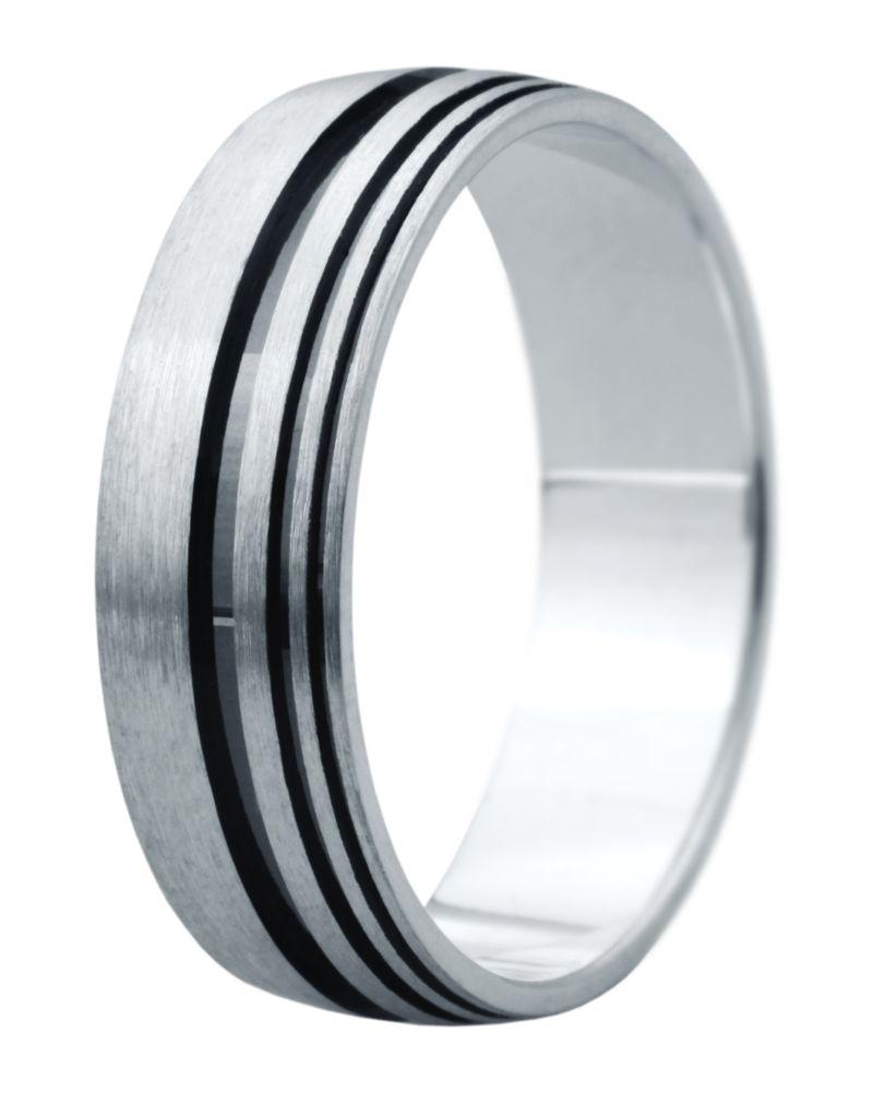Hejral snubní prsten Eliška 8 bílé zlato
