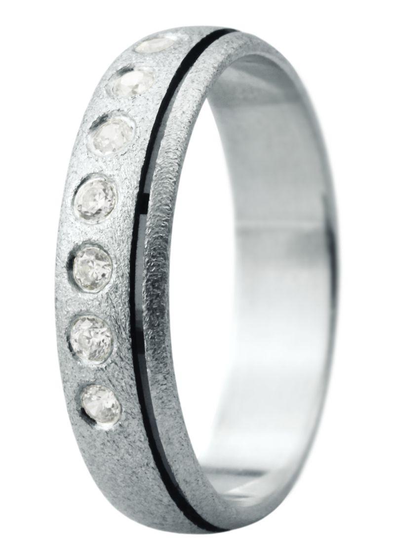 Hejral snubní prsten Eliška 17 bílé zlato