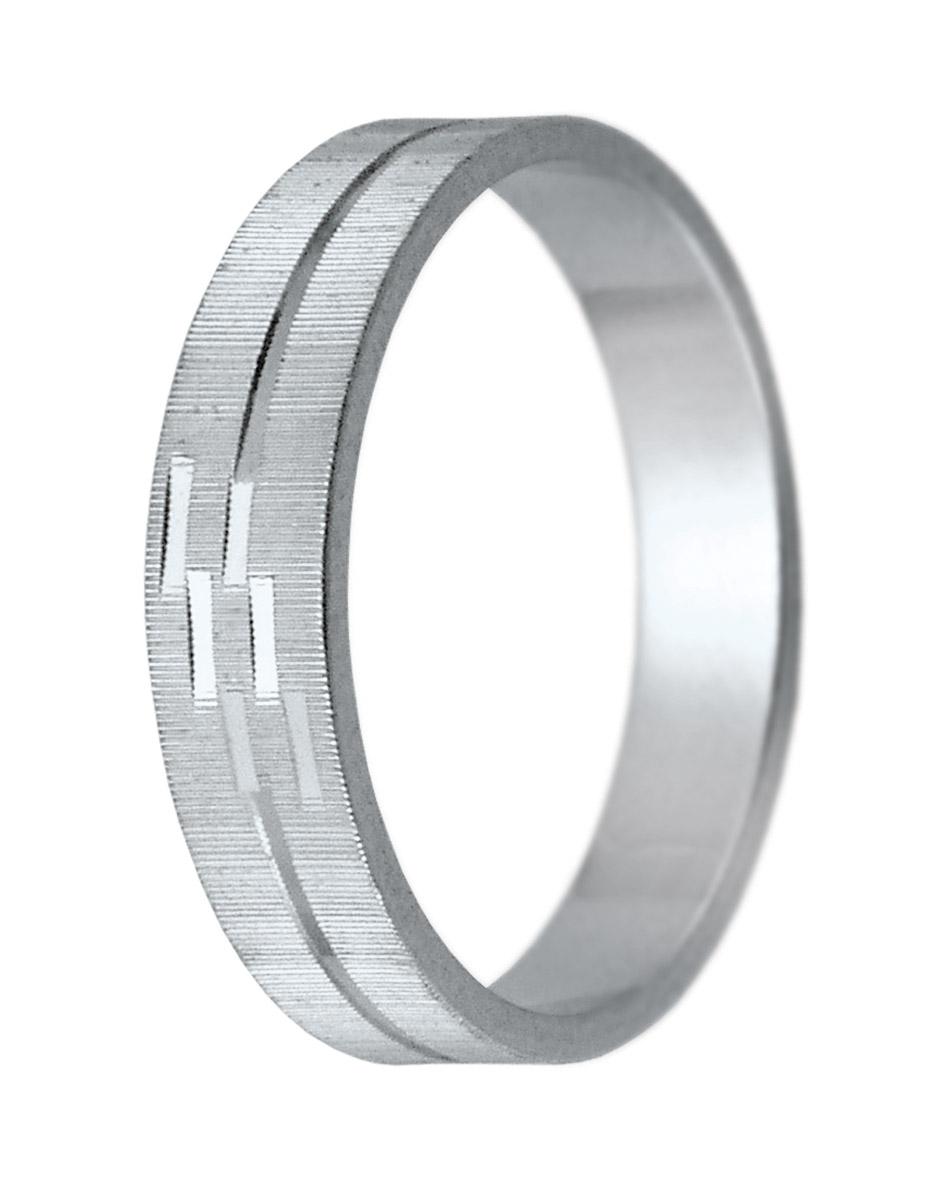 Hejral snubní prsten K 6 bílé zlato