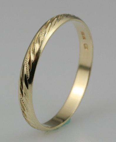 Hejral snubní prsten Lada 3/CH