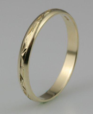 Hejral snubní prsten Lada 3/E