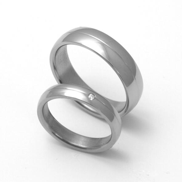 Titanové snubní prsteny 19