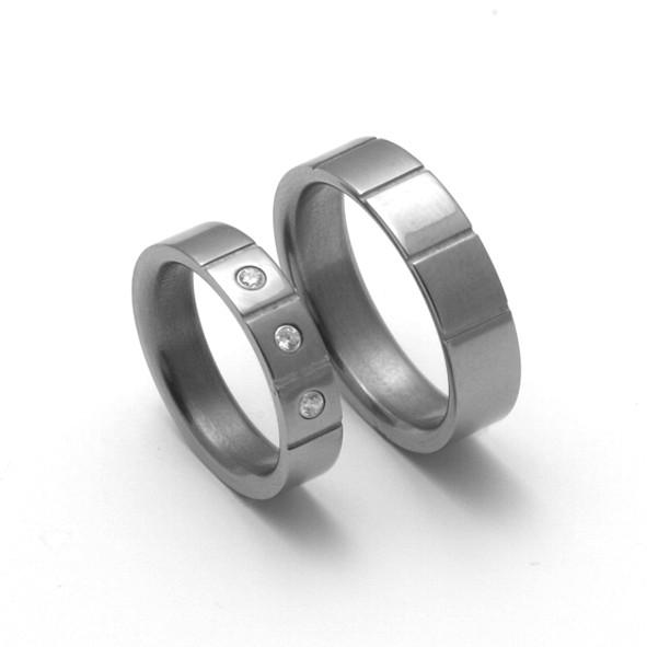 Titanové snubní prsteny 20