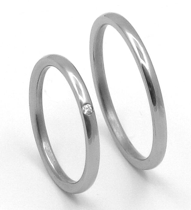 Titanové snubní prsteny 40